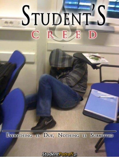 Student's Creed –